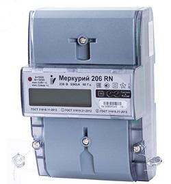 Счетчик электроэнергии Меркурий 206 PRSNO