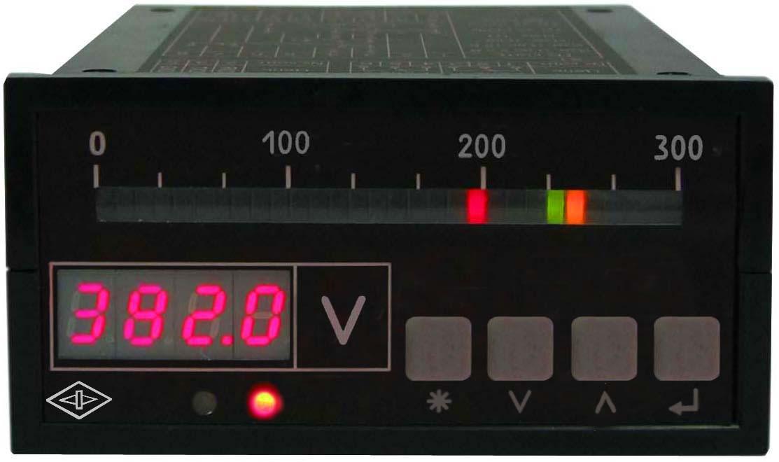 Предназначены для измерения силы тока или напряжения в электрических цепях постоянного тока и отображения на...