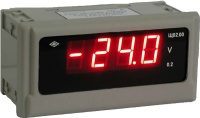 Цифровые приборы для измерения постоянного тока и напряжения с уменьшенной глубиной корпуса Щ02.00.